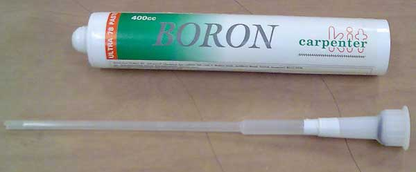 Boron Paste with extension tube